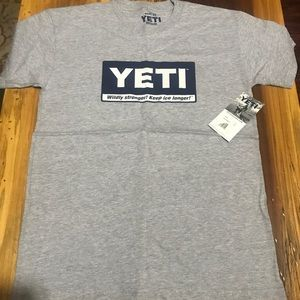 🎉NWT Yeti Short Sleeve T-Shirt! Men's Medium.